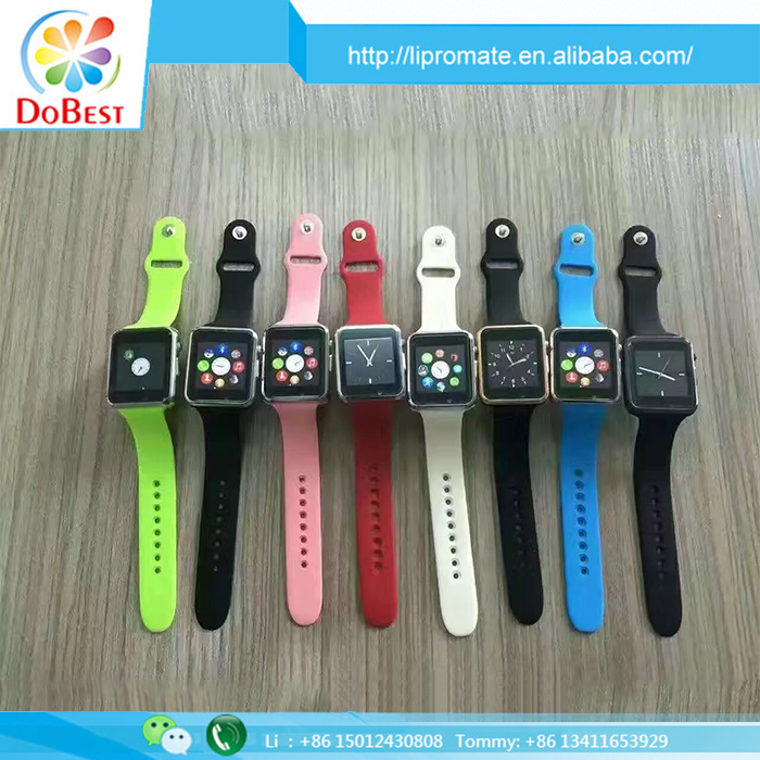 China bluetooth watch manufacturer, GT08 DZ09 A1 smartwatch 2016 with wholesale smart watch cheap