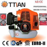 High quality and portable 43CC Brush Cutter BC430 brush trimmer 1e40f engine