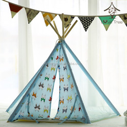 Love Tree summer gauze cool and refreshing teepee pet tent dog play house