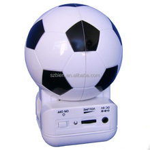 2014 world cup football shape silicone loud speaker