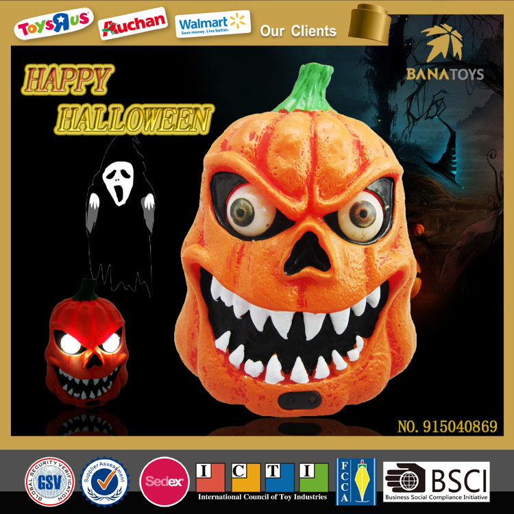 Ghost toys led light halloween pumpkin
