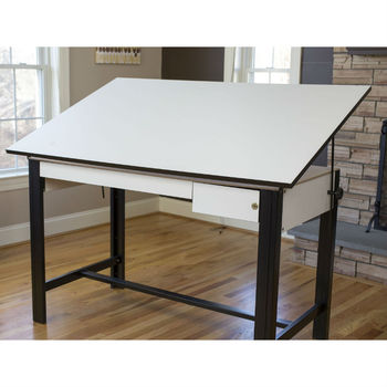 "opular sale 37.5"" x 72"" Design Master 4-Post Drafting Table"
