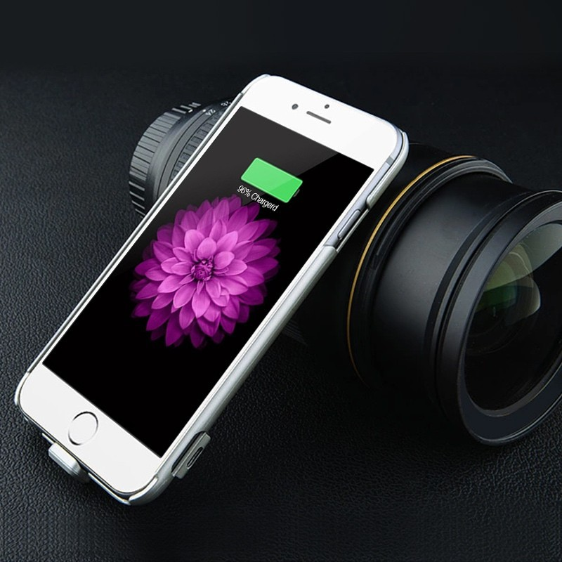 OEM portable ultra thin battery cell phone case cover for iPhone 6 Charging Case