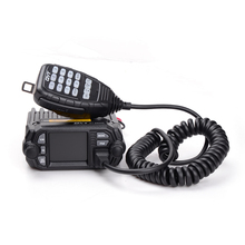QYT KT-8900D Dual Band Quad-standby Colorful Screen Mini Mobile Vehicle-mounted Radio FM Radio Function Repeater