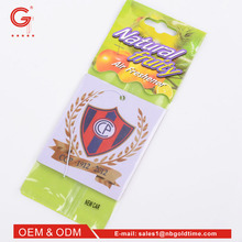 T-GL01 One To One Order Following Portable small car air freshener card