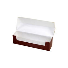 Folding Hot Dog Swiss Roll Cake Paper Box For Cupcake