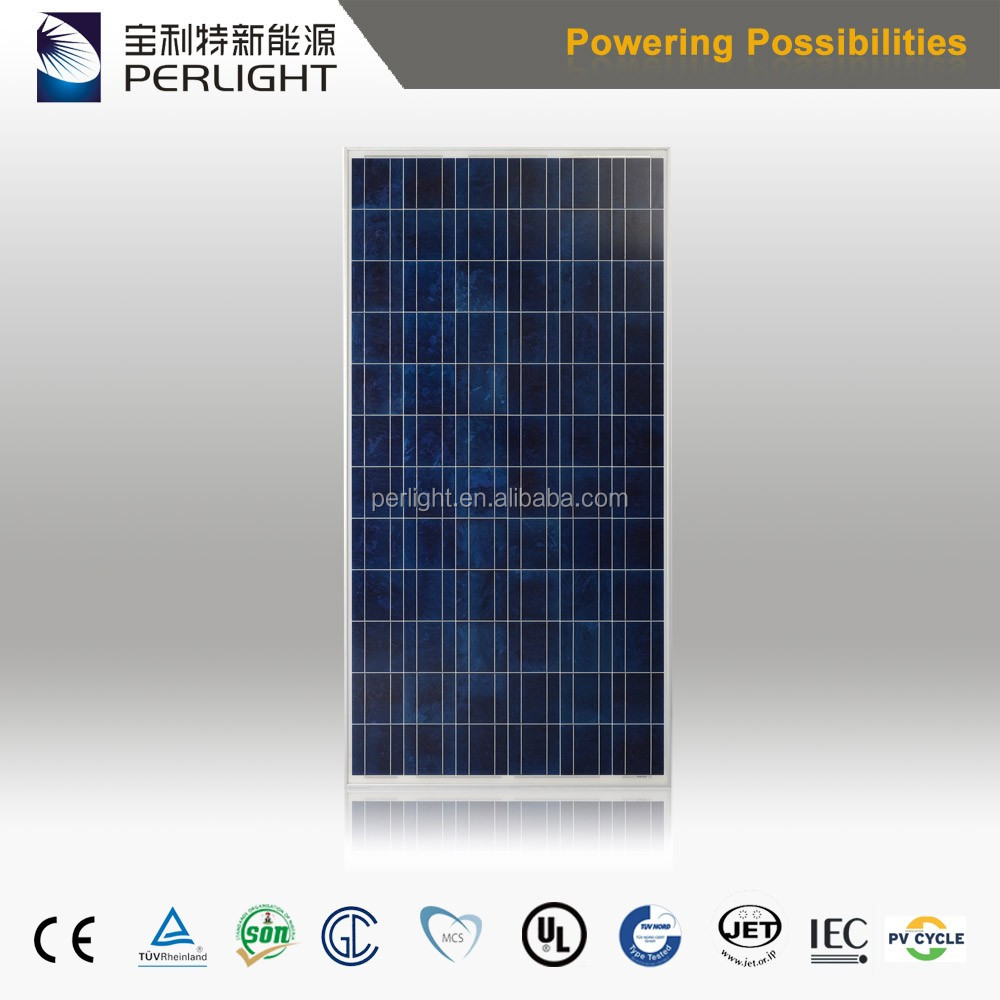Perlight High Efficient Importacion Paneles Solares 24V 300W Poly Solar Panel For Homes Commercial