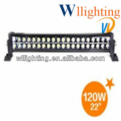 21.5 inch 120w Epistar LED work bar,led light bar wl8021-120