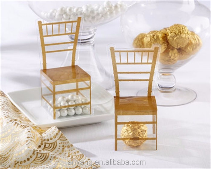 Gold Chiavari Gold Chair Favor Boxes For Weddings Baby Shower Birthdays Party Decorations