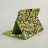 "green camouflage smart 9"" 10"" universal pc leather cover"