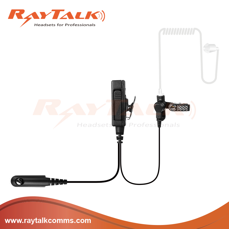 Security earpiece/two way radio acoustic tube earpiece for kenwood