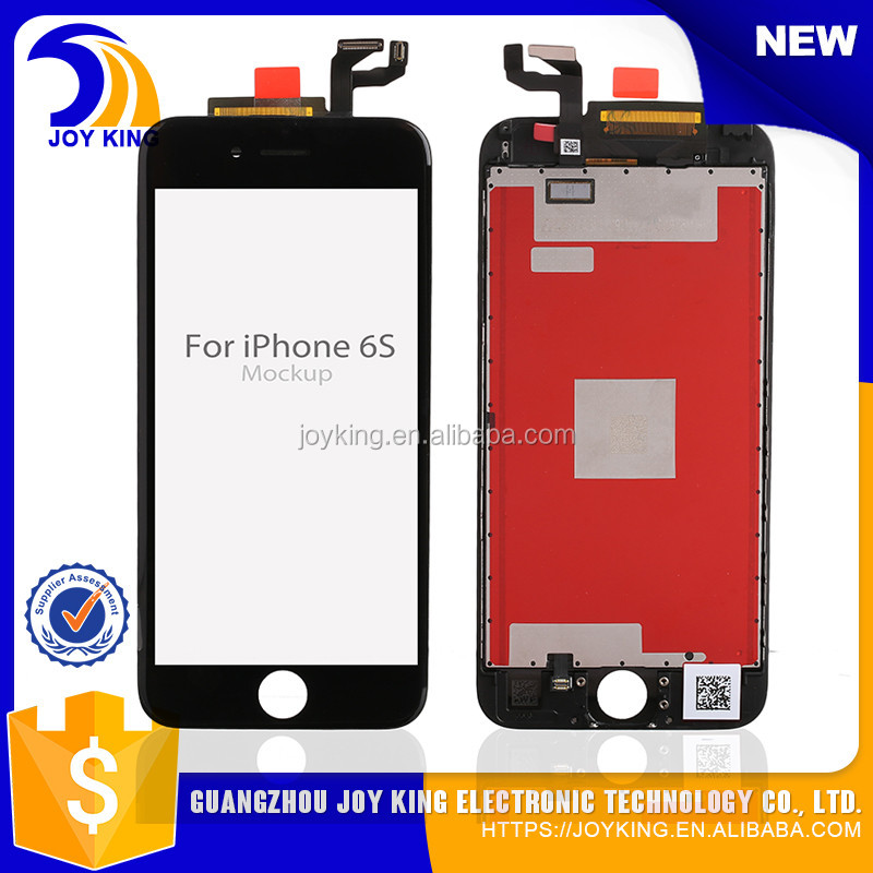 2016 The best price lcd screen for iphone 6s plus digitizer lcd display