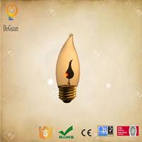 Flicker flame christmas lights decorative string light C32