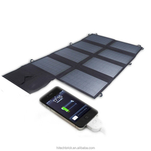 Car Battery Solar Charger 80W Solar charger Bag Folding Solar Charger for Laptop and Phone