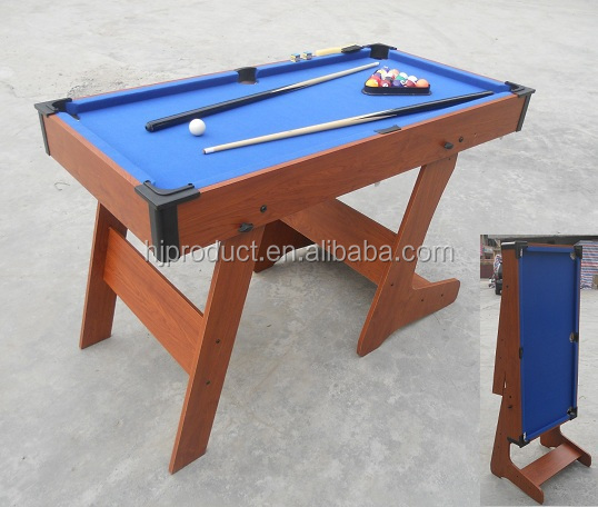 4ft ,5ft economic price foldable billiard table pool table small game table for kids on sale