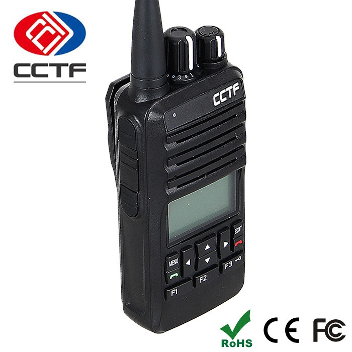 D-568C China Hot Sale Digital Handheld VHF UHF Roip Interface Programmable Two Way Radio