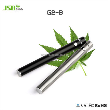 JSBeline Private Label Custom Logo CBD 510 Thread Battery G2-B with Charger Touch Battery CBD Oil Vape Pen