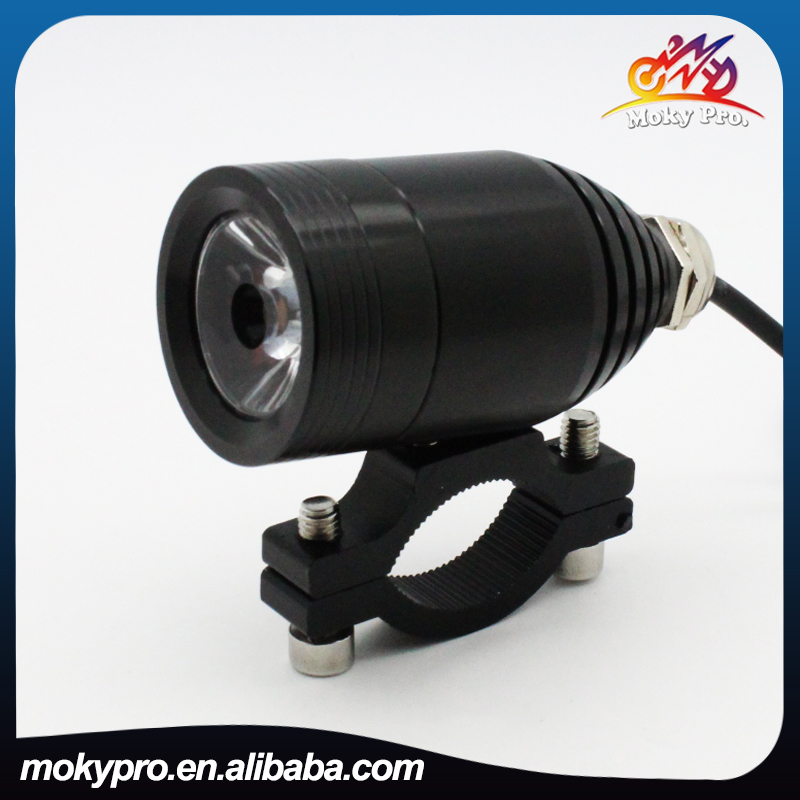 10Watt Laser headlight high brightness high low flash fancy light small headlight fog light for motorcycle