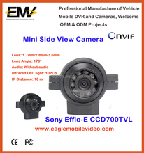 Vehicle Side View Camera For Vehicle Backup Video Assistant