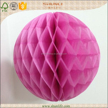 wedding decoration pretty round paper flower ball