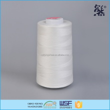 12S/3 135tex 20ticket cotton polyester price for poly core sewing thread