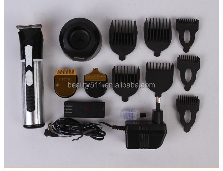 Professional Household Multifunctional Rechargeable Electric hair clipper/cutter KM-3007