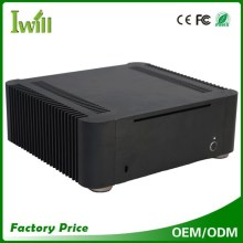 Cheap aluminum T8 fanless mini itx pc case for HTPC