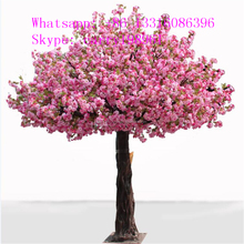 SJTHS-04 artificial plants and trees garden decoration flower plants pink wedding tree