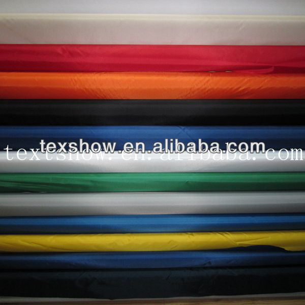 420D high density PU coated/100%Polyester windproof oxford fabric