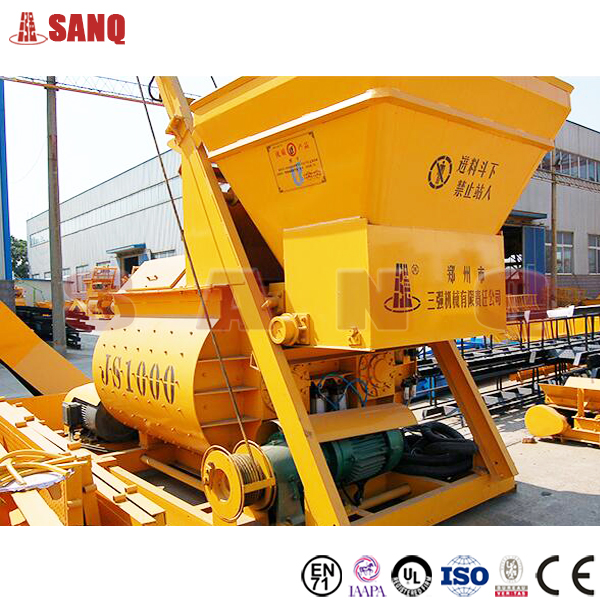 60m3/h Ready Mixed Concrete Mixing Plant, Concrete Batching Plant