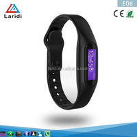 2015 New Product Silicone E06 bracelet smart watch health assistant android touch screen bluetooth watch