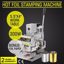 Newest Design Tipper Embosser Hot Foil Stamping Machine For Paper PVC