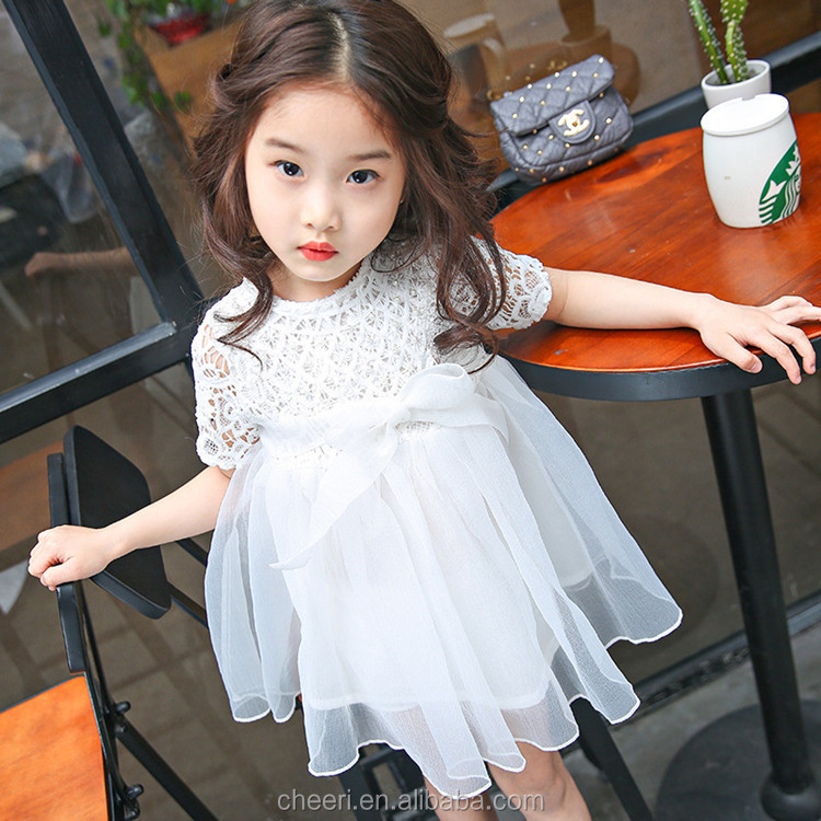 Fashion Clothing 2017 Baby Girl Party Dress Children Frocks Designs New Style Dress Fancy Baby Frocks