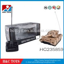 New products 4CH radio control super power panzer tank with music for sale HC235859