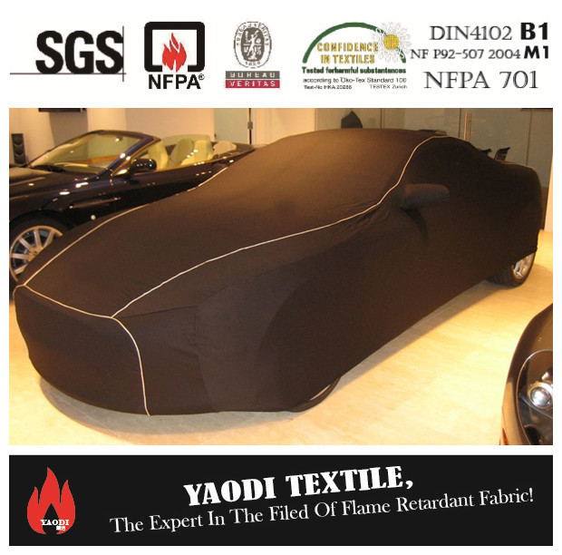 100% polyester flame retardant oxford car cover fabric