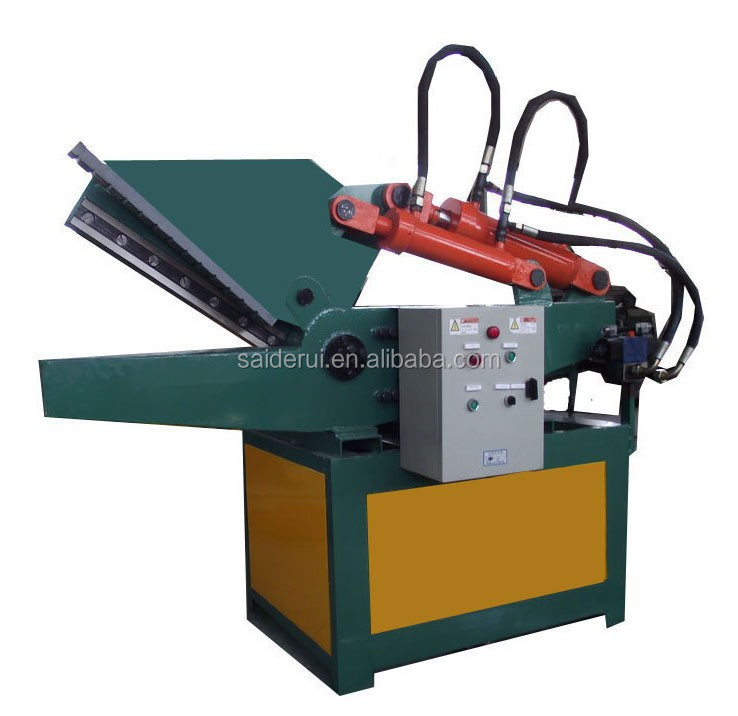 scrap metal hydraulic shear / aluminiuim copper radiator cutter hydraulic shear