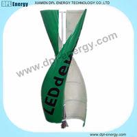 DPL NEW DESIGN wind power led light blue energy solar wind turbine wind power 100w