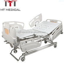Medical three nursing bed manual hospital bed