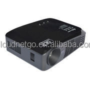 2015 Cloiudnetgo New home theater enjoy cinema ,Support Red/Blue 3D 4K UHD mini Portable Projector with android 4.4