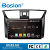 Bosion Double Din Touch Screen Android Car DVD for Sylphy GPS Navigation System with Coloful LED and Mirror Link GPS