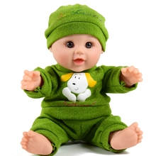 Pvc 12 inch small happy china doll toys for kids factory