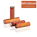 IMR 18650 1500mAh 3.7V Flat Top High Drain Rechargeable Battery