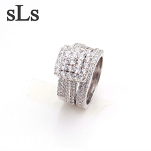 New Fashion Lots Value Sterling 925 Silver Jewelry Ring