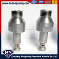 Diamond finger router bit for glass edging