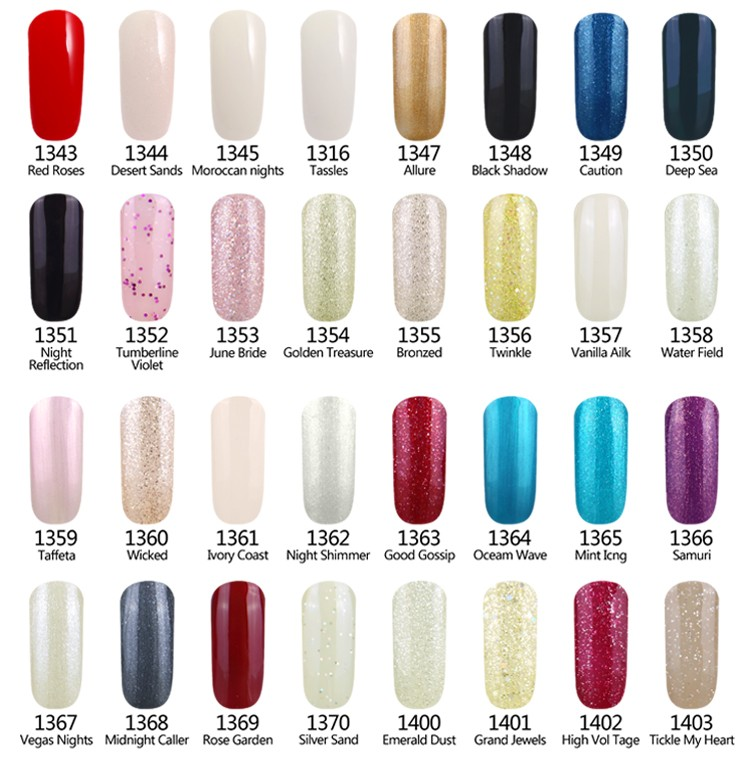 L&M Manufacturer uv Gel Nail Colors Soak Off Gel Polish