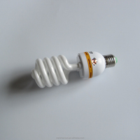 40W hot sale 9mm tube half spiral CFL 6000hours energy saving light