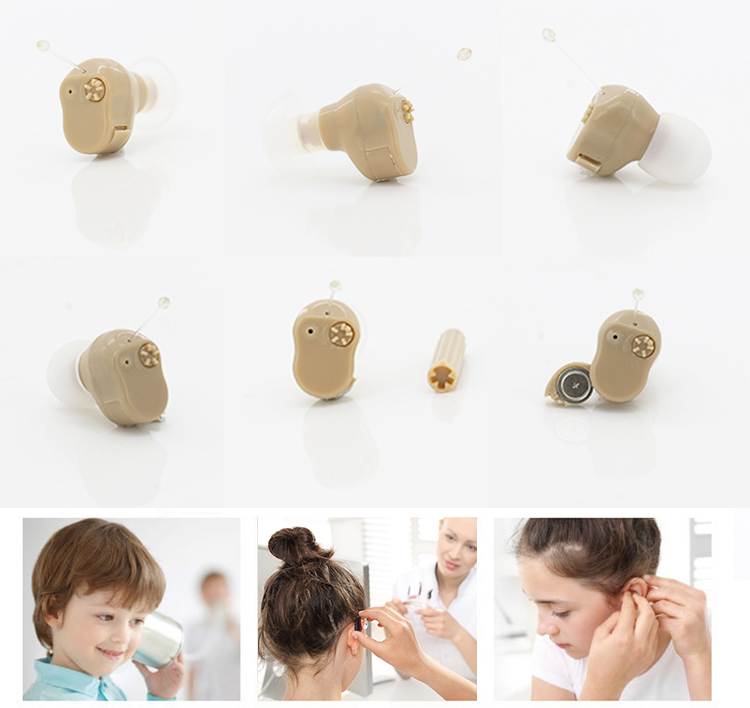 Mini Ear Sound Hearing Aids Devices For Deaf