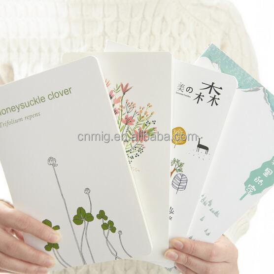 Cheap price paper writing custom cute notebook