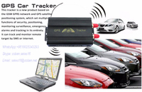 GPS mobile phone vehicle gps tracker 103A 103B car immobilizer gps tracking device with sos panic button