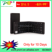 Black Folding Foldable Wireless Bluetooth Keyboard for IOS Android Tablet Phone